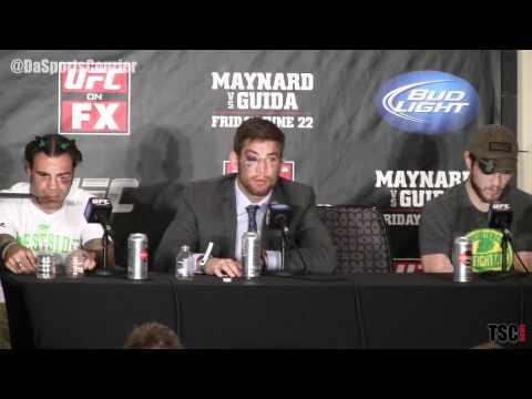 Dana White, Sam Stout On Spencer Fisher UFC Trilogy, Shawn Tompkins
