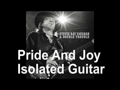 Stevie Ray Vaughan - Pride And Joy isolated Guitar