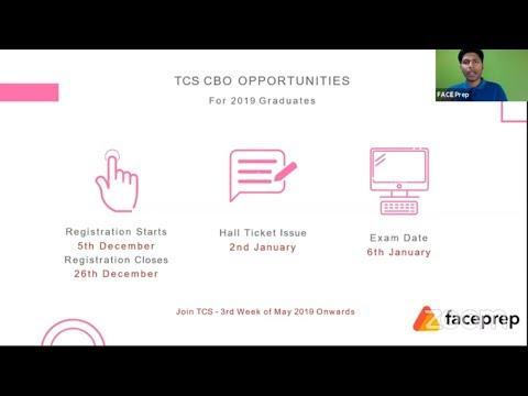 TCS CBO Recruitment for 2019 Commerce & Arts Graduates
