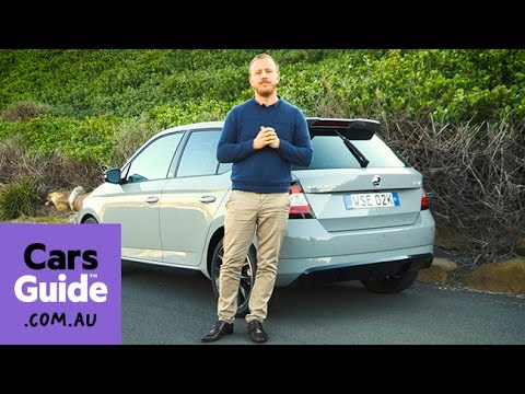 skoda fabia monte carlo 2017 review first drive video youtube. Black Bedroom Furniture Sets. Home Design Ideas