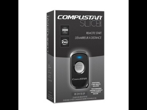 Compustar Rf 2w1b 2 Way 1 Button Remote Starter Demo On