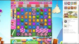 candy crush saga level 1442 no booster 3 stars 72 k pts