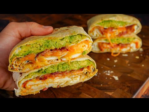 3 Less than 500 Calorie Air Fryer Breakfast Sandwich Recipes | Quick, Easy, Low Cal, & High Protein!