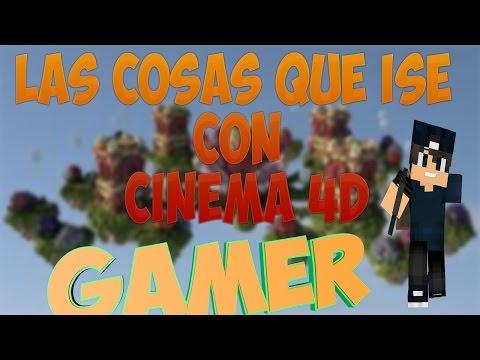 LAS COSAS QUE ISE EN CINEMA 4D - Sebin999 - 1080pHD - 40 likes para mi CARA