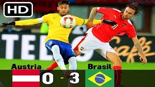 Austria vs Brazil 0-3 All goals and highlights