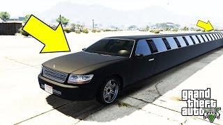 أدهشتني أطول سيارة في قراند 5 لن تصدق ما ستراه عيناك   GTA V WORLD'S LONGEST CAR