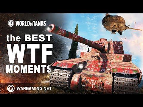 WTF Лучшее #1-9 Приколы, Баги, Фейлы [World Of Tanks]