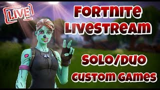 LIVE - SOLO/DUO CUSTOM GAMES // SKINS VERSCHENKEN?🔥 // FORTNITE ENGLISH LIVESTREAM// Today 6.3k?! ❤️