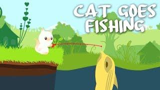 SIMBA PÅ FISKETUR! - Cat Goes Fishing Dansk Ep 1