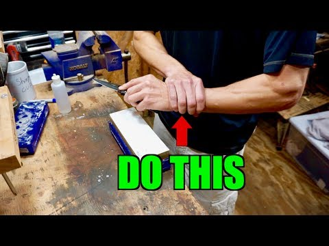 KNIFE SHARPENING TIPS BEGINNERS MUST KNOW 2  |   HOW TO MAINTAIN AN ANGLE