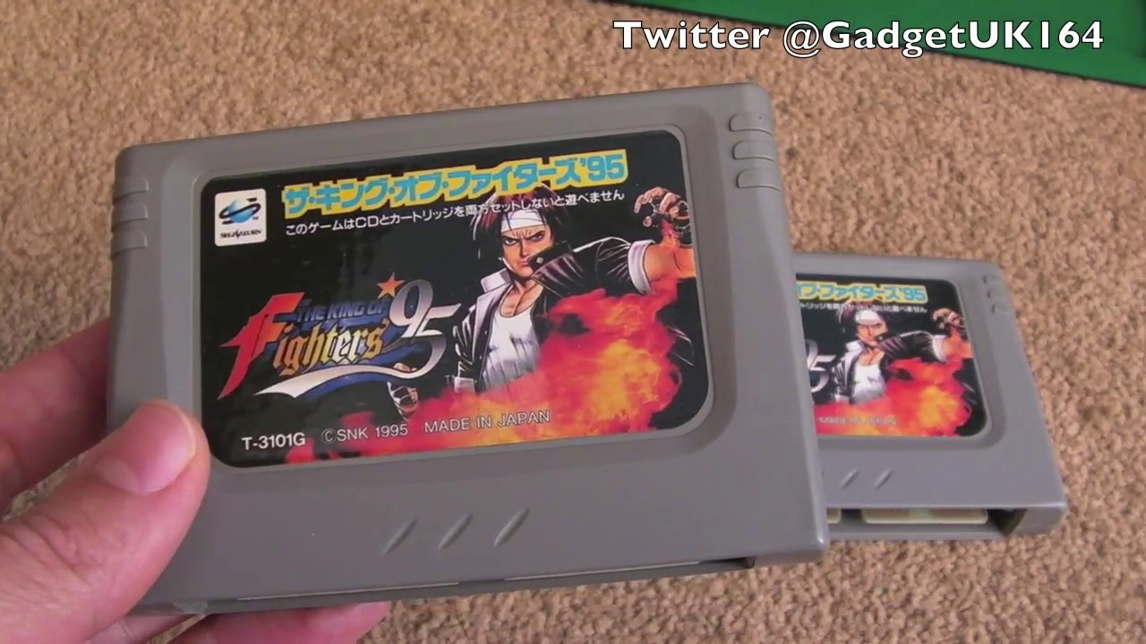 Sega Saturn King of Fighters 95 Dead ROM Cart Fixes (NTSC Cart with PAL or  NTSC disc)