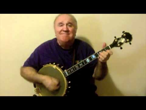 """Willie The Weeper"" (Old Trad Jazz Tune) Eddy Davis Banjo"