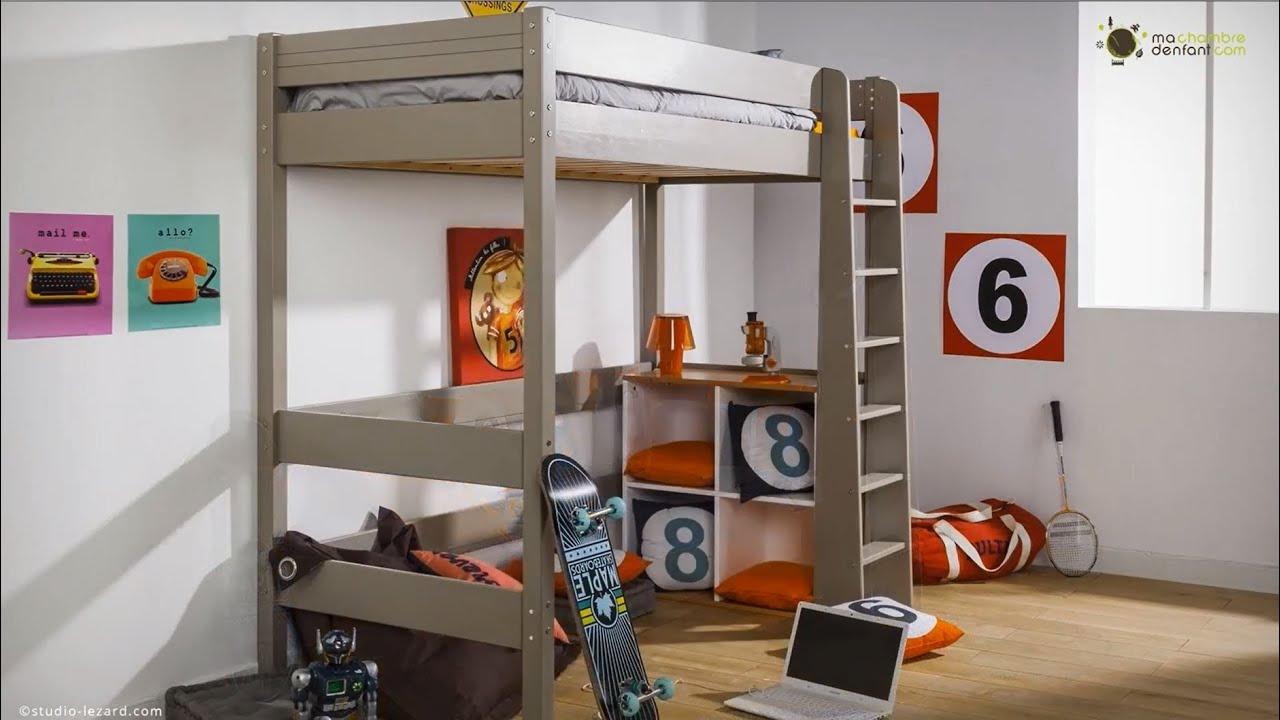 Mezzanine Chambre Lit Double - Décoration de maison idées de design ...
