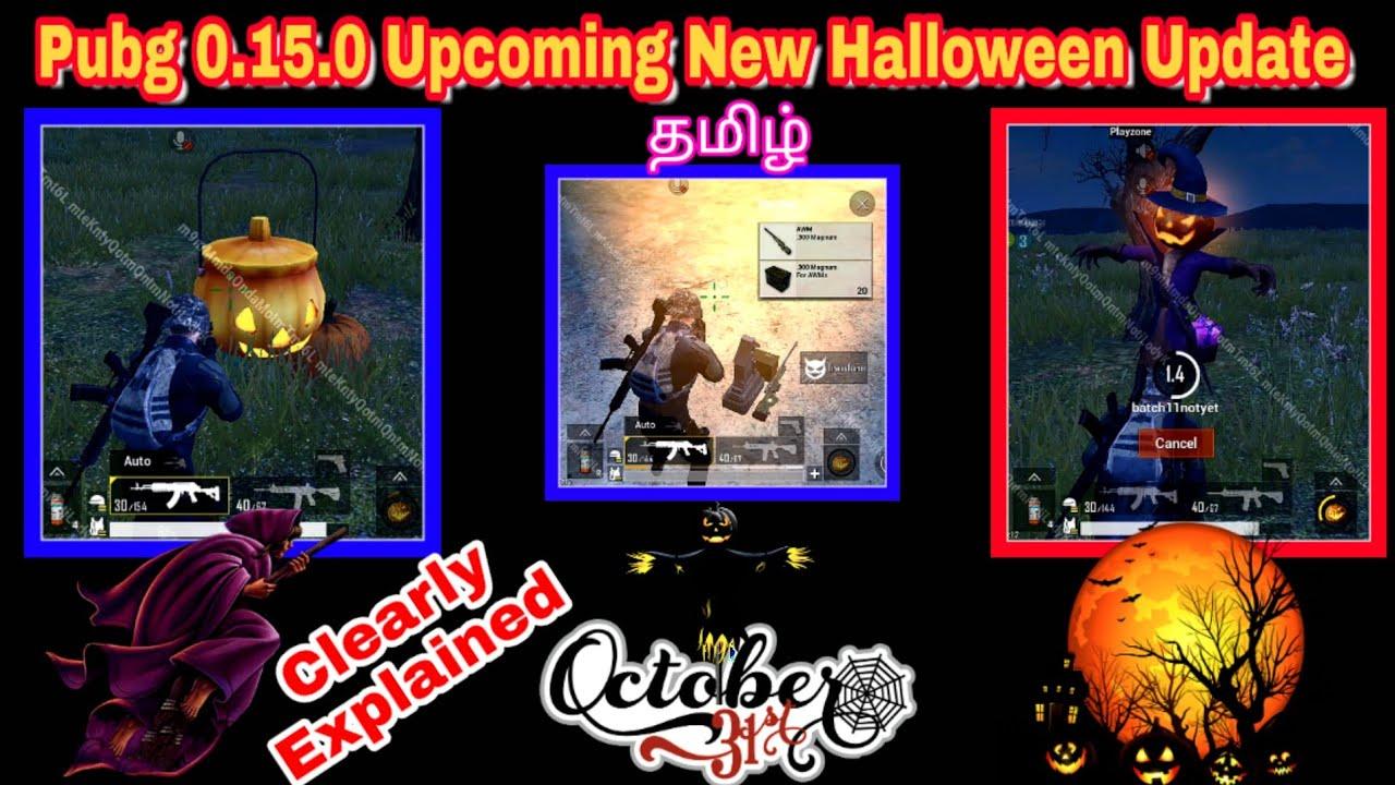 Pubg Mobile 0.15.0 Halloween Update Explained In Tamil | Vampire Man in pubg | Tyson Noob Gamer |