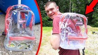 BACKPACK PORTABLE POOL POND!