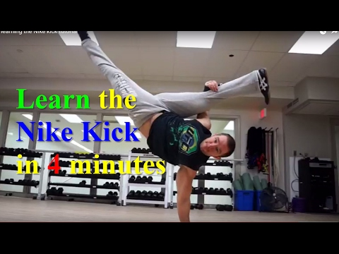 3 Steps For Learning The Nike Air Freeze Kick | Alpha Living Tutorial