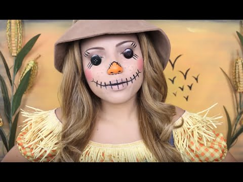 Creepy Scarecrow Makeup - YouTube