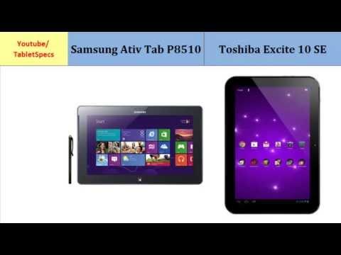 Samsung Ativ Tab P8510 over Toshiba AT300SE, full specs