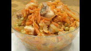 видео Удивительно вкусный и нежный салат из сельди.