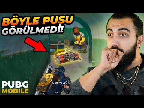 HAYATIMDA BÖYLE PUSU GÖRMEDİM!! TÜNELE BOMBA KURMUŞ?! | PUBG Mobile