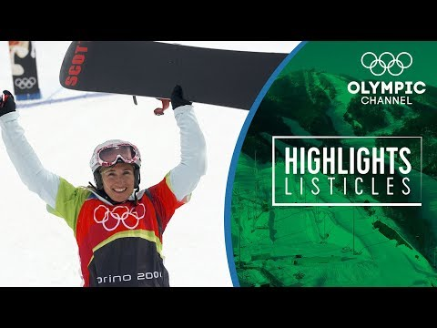 Top 5 Winning moments in Olympic Snowboad Cross | Highlights Listicles
