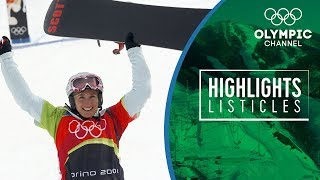 Top 5 Winning moments in Olympic Snowboard Cross | Highlights Listicles