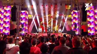 Алина Гросу выступила на шоу ЖАРА в Вегасе