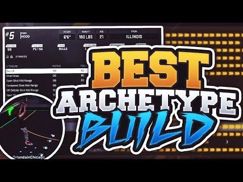 NBA 2K18 Overpowered GODLIKE Sharp Build! BEST Archetype