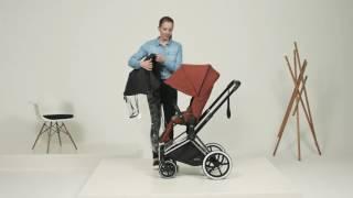 видео Купить Cybex Priam Lux (для новорожденных) - цены на коляску, отзывы, обзор на Cybex Priam Lux (для новорожденных) - Коляска для новорожденных