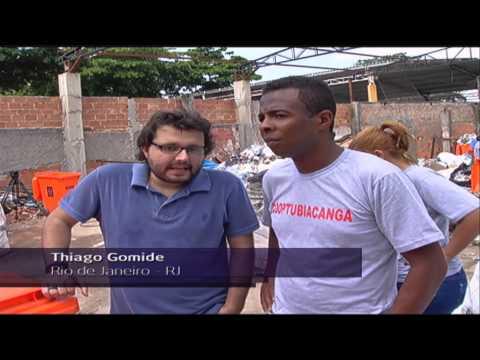 O trabalho da Cooperativa de Reciclagem de Tubiacanga - Jornal Futura - Canal Futura