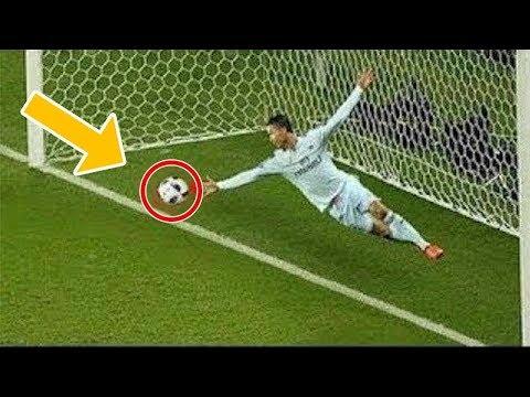 Kaleye Geçerek Penaltı Kurtaran 10 Ünlü Futbolcu - ( Ronaldo, Sergio Ramos, Felipe Melo vs )