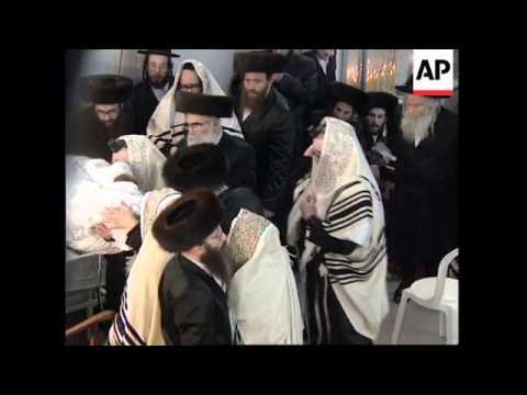 JERUSALEM: CIRCUMCISION OF HASIDIC PRINCE CELEBRATIONS
