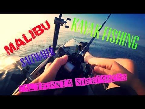 THE HUNT FOR CALIFORNIA SHEEPSHEAD -- KAYAK FISHING IN MALIBU