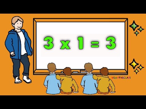 TABLE OF 3 | THREE ONES ARE THREE | LEARN 3 TIMES TABLE | TABLE OF THREE SONG | THREE TABLE