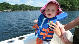 baby s first boat ride