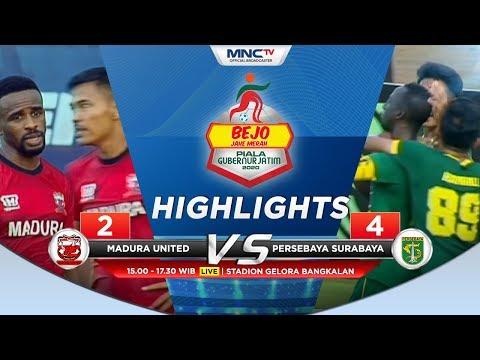 MADURA UNITED VS PERSEBAYA (FT 2-4) - Highlights Bejo Jahe Merah Piala Gubernur Jatim 2020