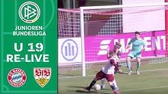 FC Bayern München - VfB Stuttgart 3:1 | Re-Live | A-Junioren-Bundesliga