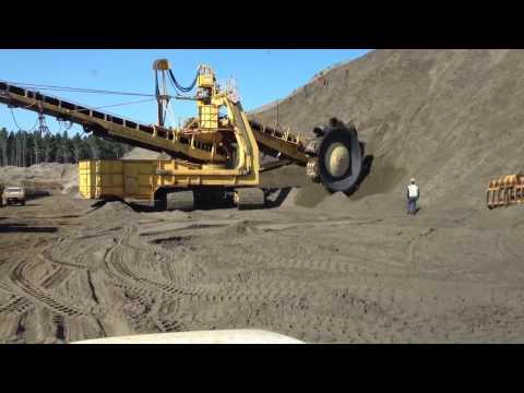 Bucket wheel excavator - Nz