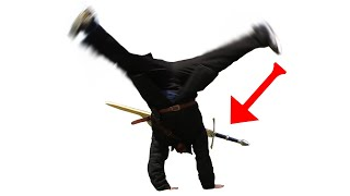 More things you can do with a SWORD on your back