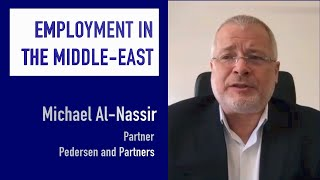 Employment in the Middle East - Michael Al-Nassir
