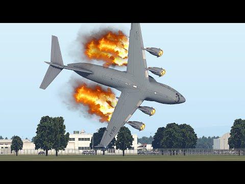 C-17 Globemaster Crashes