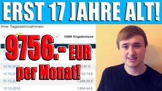 Interview mit Deutschland`s jüngsten Internet Marketer!