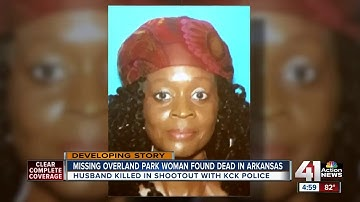 Missing woman found dead hours after husband shot by police