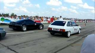 Toyota supra vs Vaz 2108