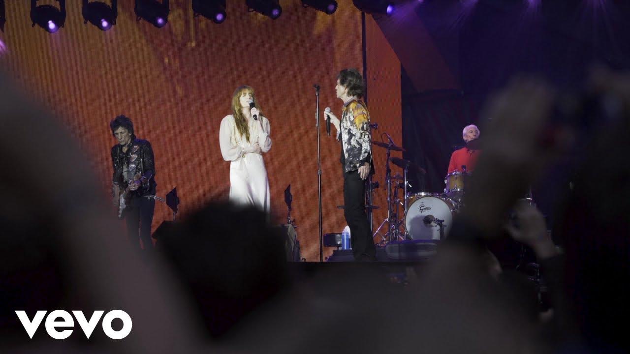 Bildergebnis für youtube Florence + The Machine als vorgruppe der rolling stones