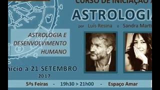 Curso de Astrologia Luis Resina e Sandra Martins
