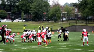 2015  tiny mites lamond riggs steelers vs forestville falcons