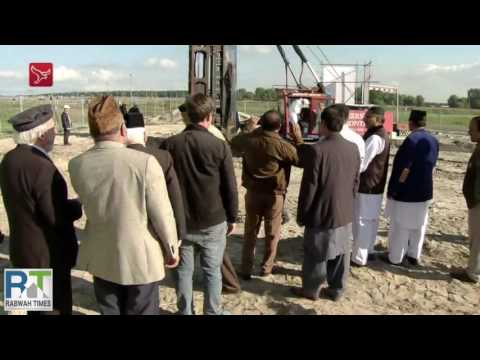 Construction of Ahmadiyya mosque begins in Almere, Netherlands