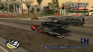 الجزء6 : طريقة الحصول على سيارة cesar مضادة للرصاص من مهمة  Gta San Andreas   High Stakes, Low-rider