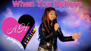 Gambar cover When You Believe (Whitney Houston)   Angelica Hale in Kolkata, India